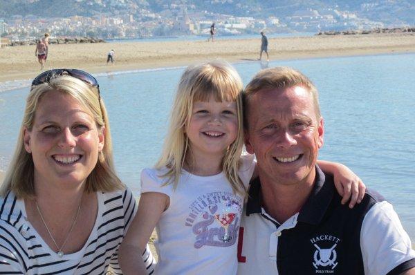 Carolin Munter and her family