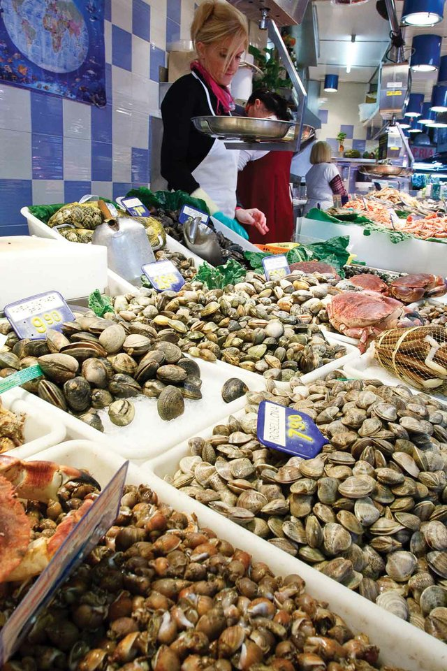 Mussels and clams are your best seafood option