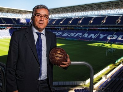 Joan Collet, CEO of Espanyol football club