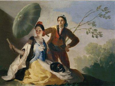 Goya: The Parasol, 1777. Museu Nacional del Prado, Madrid