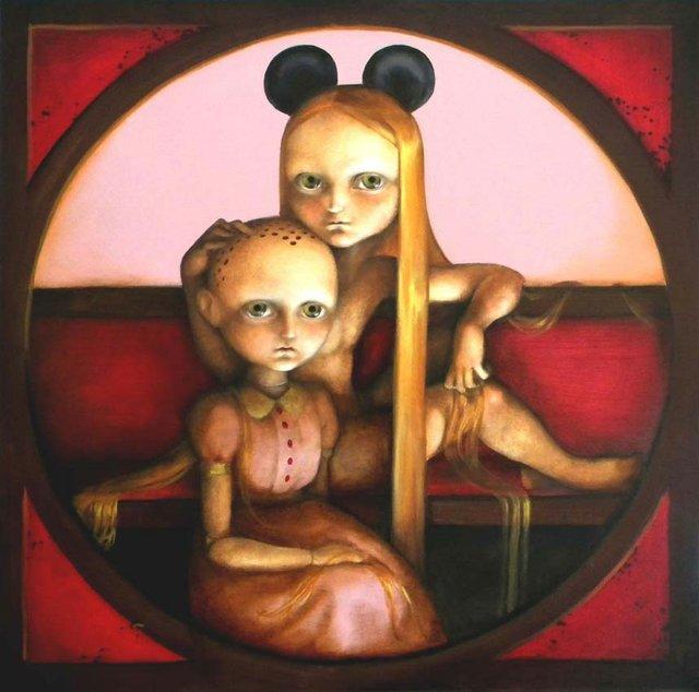 Arty chokes—Dani Torrent