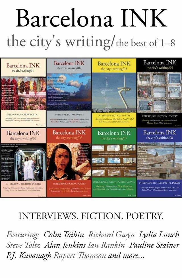 'Barcelona Ink, best of 1-8' anthology