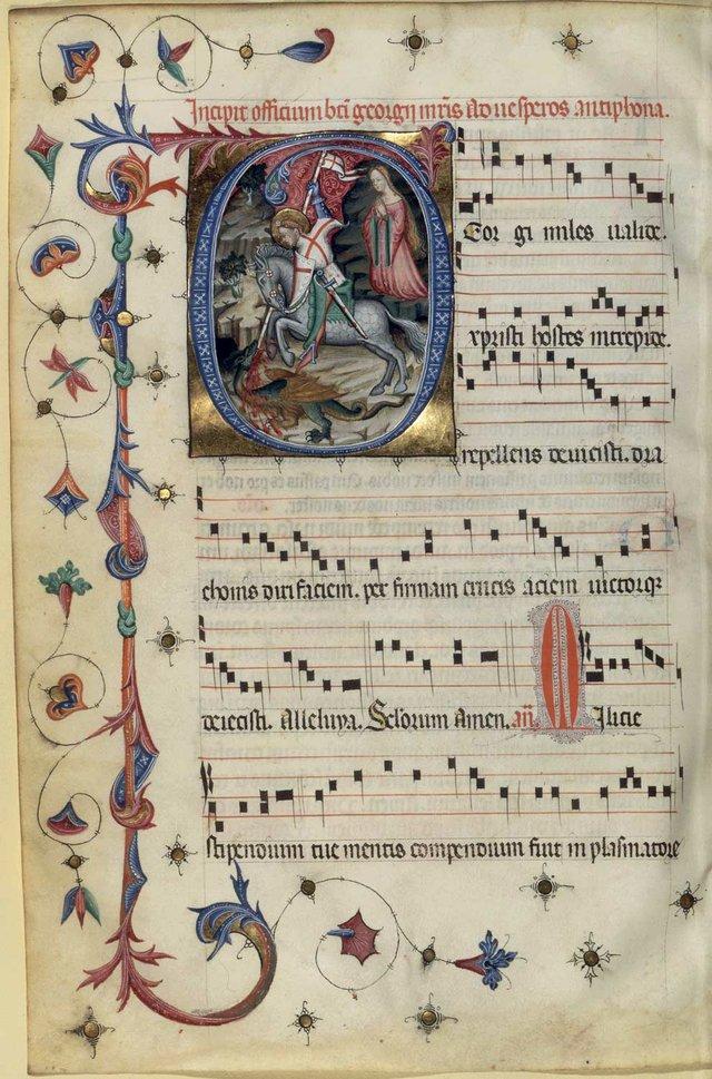 Missal de Santa Eulàlia - Catalunya 1400. El gòtic internacional