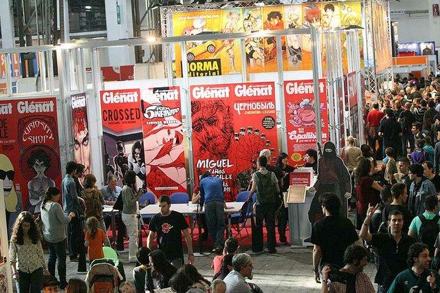 FICOMIC 2012 - Saló del Còmic