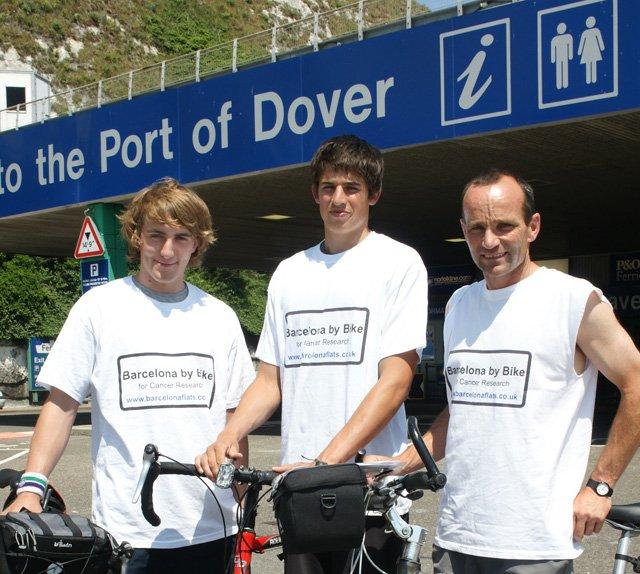 Leaving Dover