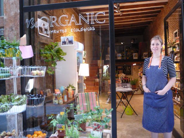 Isabelle Reymond at Be Organic