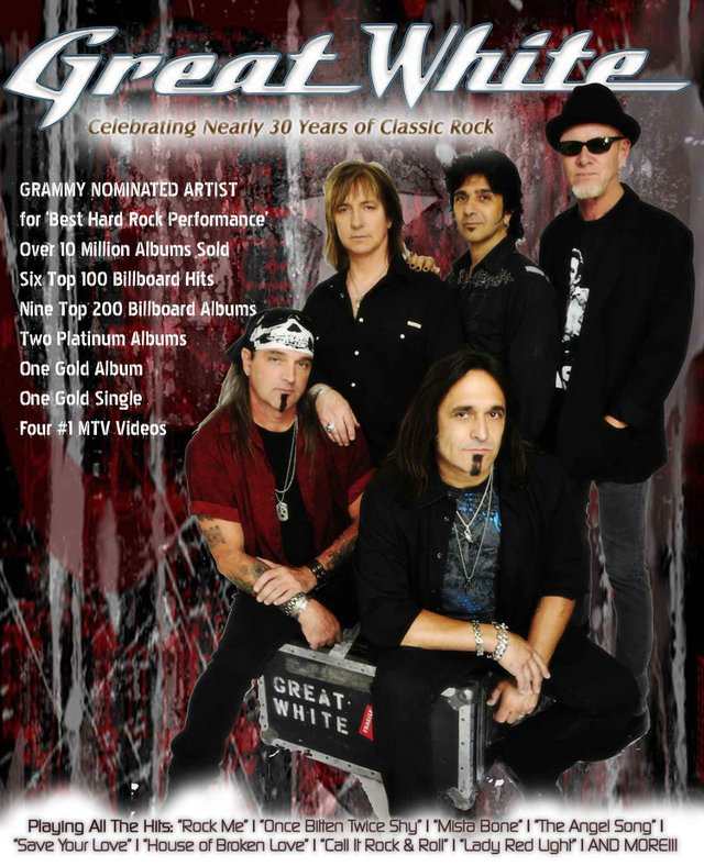 Great White—30 years of classic rock