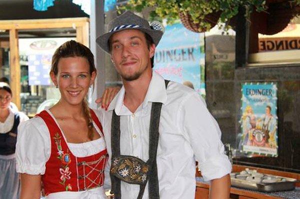 Oktoberfest kicks off at the Princesa Sofia Biergarten
