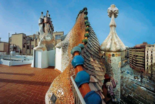 Casa Batll 243 Gaudi Museum Barcelona Barcelona